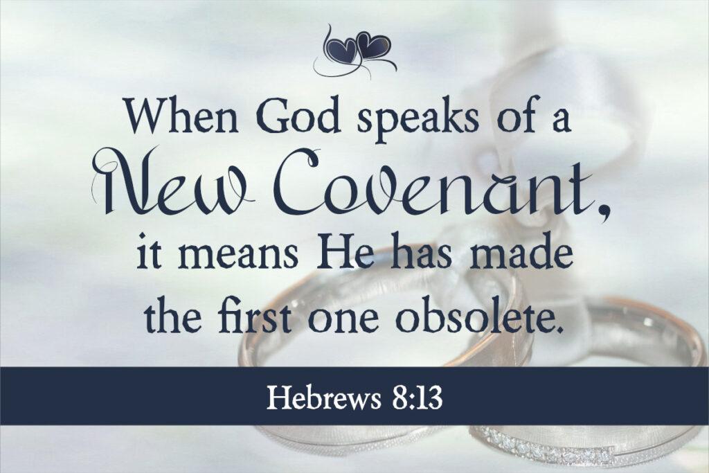 Hebrews 8:13
